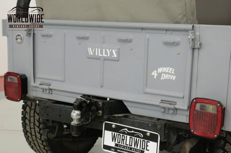 1961 Jeep WILLYS  PROFESSIONAL PAINT AND BODY WORK | Denver, CO | Worldwide Vintage Autos in Denver, CO