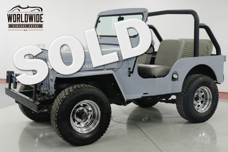 1961 Jeep WILLYS  PROFESSIONAL PAINT AND BODY WORK | Denver, CO | Worldwide Vintage Autos