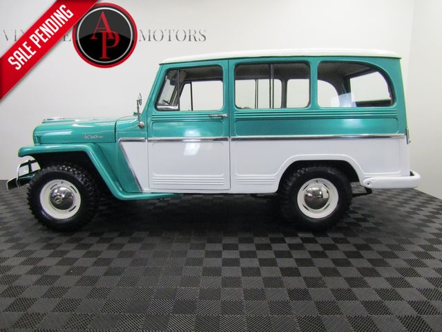 1961 Jeep Willys Wagon 4x4 Hurricane 6