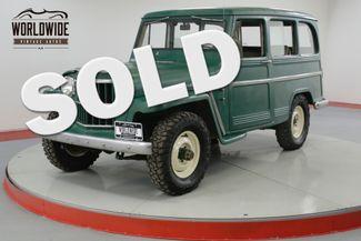 1961 Jeep WILLYS WAGON RARE WAGON. 4X4. SUPER HURRICANE. ORIGINAL.  | Denver, CO | Worldwide Vintage Autos in Denver CO
