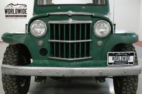 1961 Jeep WILLYS WAGON RARE WAGON. 4X4. SUPER HURRICANE. ORIGINAL.  | Denver, CO | Worldwide Vintage Autos in Denver, CO
