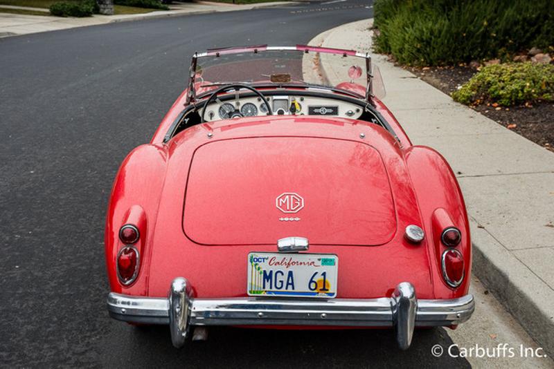 1961 Mga 1600  | Concord, CA | Carbuffs in Concord, CA