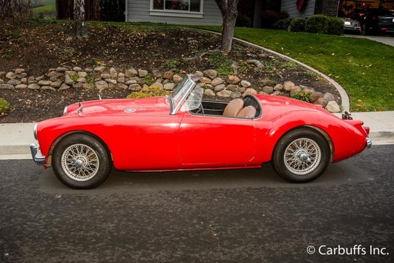 1961 Mga 1600    Concord, CA   Carbuffs in Concord, CA