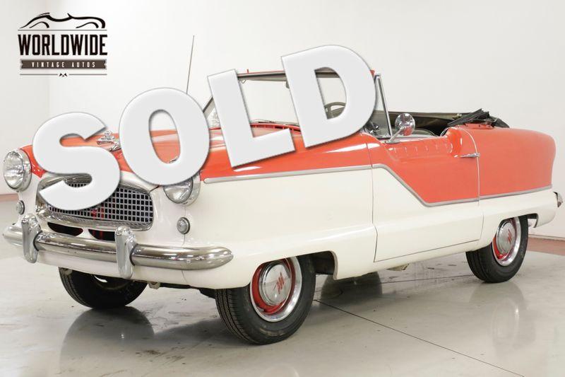 1961 Nash METROPOLITAN RARE 1961 MODEL YEAR 4 CYLINDER MANUAL | Denver, CO | Worldwide Vintage Autos