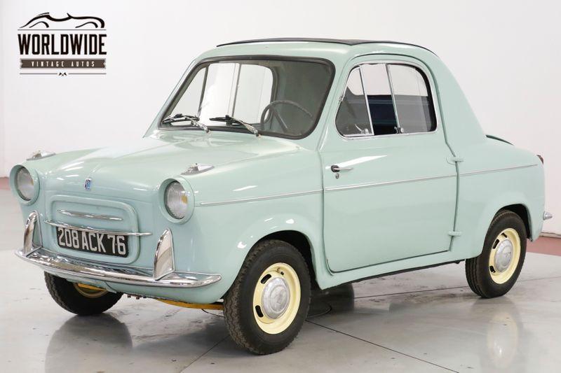 1961 Vespa 400 ULTRA RARE MICROCAR RAGTOP SUICIDE DOORS  | Denver, CO | Worldwide Vintage Autos