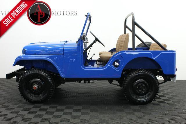 1961 Willys JEEP CJ5 FRAME OFF RESTORATION