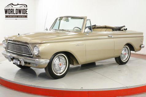 1962 Amc RAMBLER CONVERTIBLE WHITE WALL STRAIGHT 6 POWER TOP | Denver, CO | Worldwide Vintage Autos in Denver, CO