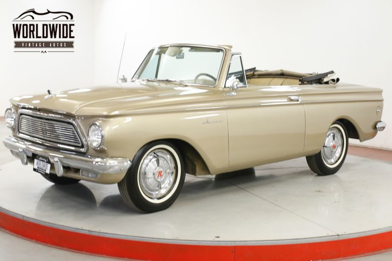 1962 Amc RAMBLER CONVERTIBLE WHITE WALL STRAIGHT 6 POWER TOP | Denver, CO | Worldwide Vintage Autos