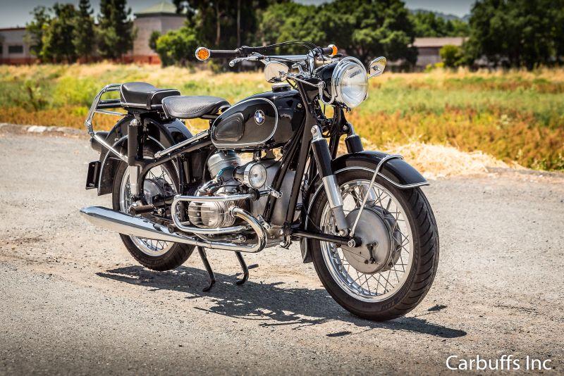 1962 BMW R60/2 Motorcycle | Concord, CA | Carbuffs in Concord, CA