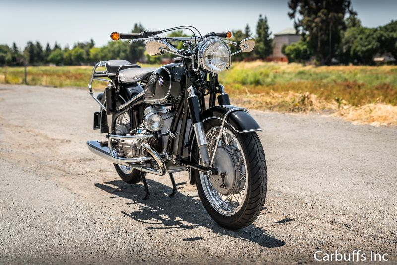1962 BMW R60/2 Motorcycle | Concord, CA | Carbuffs in Concord, CA