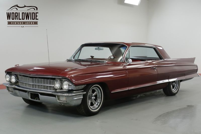1962 Cadillac DEVILLE  390V8 AUTO POWER WINDOWS RARE.  (VIP)   Denver, CO   Worldwide Vintage Autos
