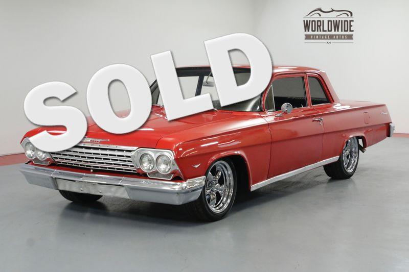 1962 Chevrolet BISCAYNE RESTORED. PRO TOURING V8 AUTO PS PB LOWERED   Denver, CO   Worldwide Vintage Autos