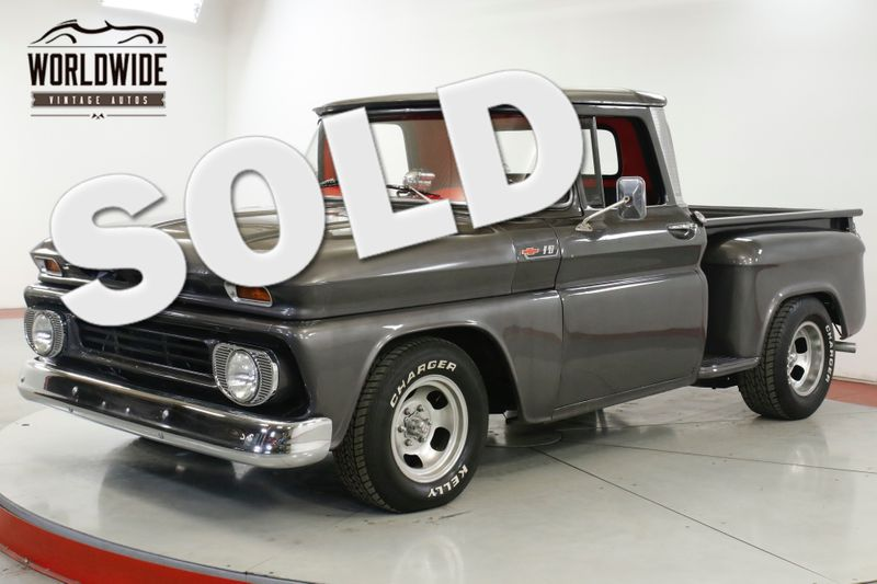 1962 Chevrolet C10 RESTORED SUPERCHARGED PB AUTOMATIC | Denver, CO | Worldwide Vintage Autos