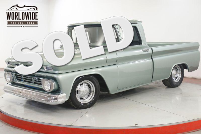 1962 Chevrolet C10 RESTOMOD SHORTBED 6.2L V8  SHOW READY  | Denver, CO | Worldwide Vintage Autos