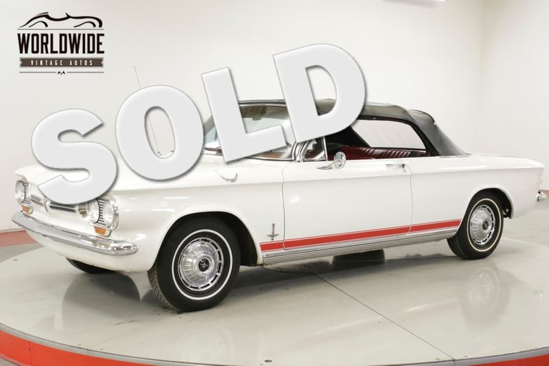 1962 Chevrolet CORVAIR  CONVERTIBLE READY FOR SUMMER | Denver, CO | Worldwide Vintage Autos