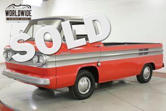 1962 Chevrolet TRUCK RARE CORVAIR RAMPSIDE RESTORED COLLECTOR | Denver, CO | Worldwide Vintage Autos in Denver CO