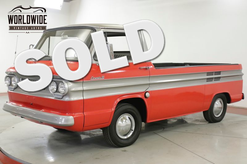 1962 Chevrolet TRUCK RARE CORVAIR RAMPSIDE RESTORED COLLECTOR | Denver, CO | Worldwide Vintage Autos