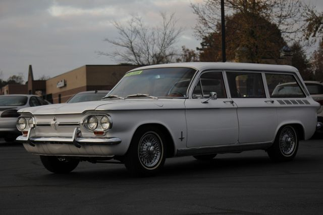 1962 Chevrolet Corvair Monza Station Wagon (LAKEWOOD) Mooresville , NC 23