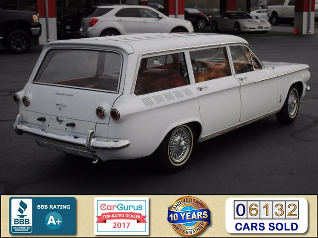 1962 Chevrolet Corvair Monza Station Wagon (LAKEWOOD) Mooresville , NC 1