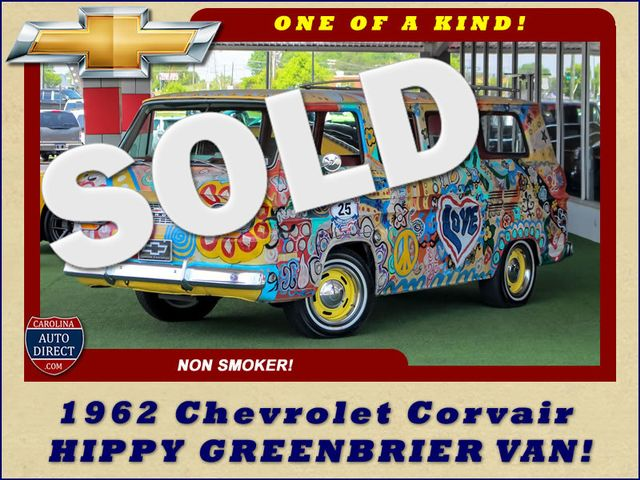 1962 Chevrolet Corvair HIPPY GREENBRIER VAN! ONE OF A KIND! Mooresville , NC 0