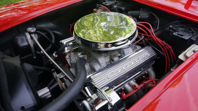 1962 Chevrolet CORVETTE ROADSTER Valley Park, Missouri 12