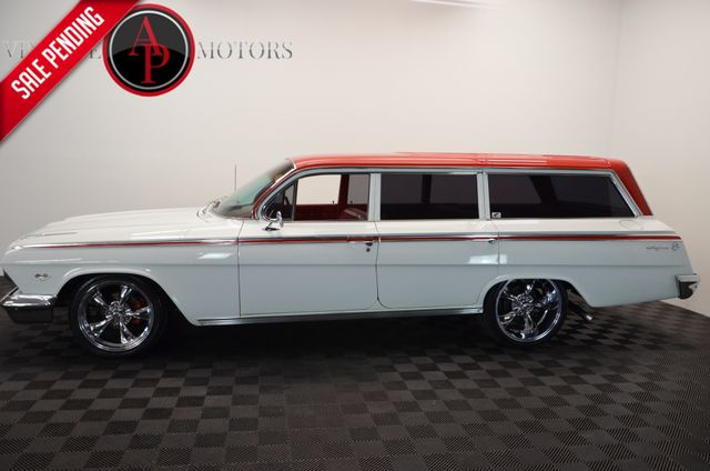 1962 Chevrolet Impala 9 passenger Wagon 454 V8 WITH 1000 MILES A/C FRONT DISC BRAKES