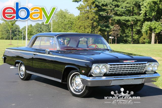 1962 Chevrolet Impala Ss 2DR COUPE 327 3SPD MANUAL RESTORED CLASSIC