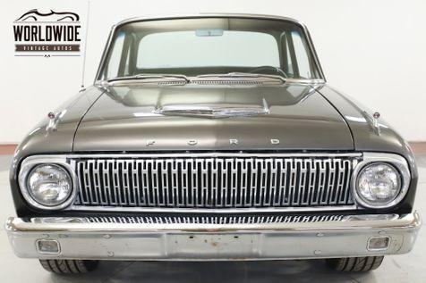 1962 Ford FALCON RESTOMOD VINTAGE AC BUILT 289 WILWOOD DISC  | Denver, CO | Worldwide Vintage Autos in Denver, CO
