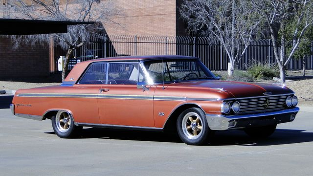 1962 Ford GALAXIE 500 COUPE 390 TRI-POWER Phoenix, Arizona 2