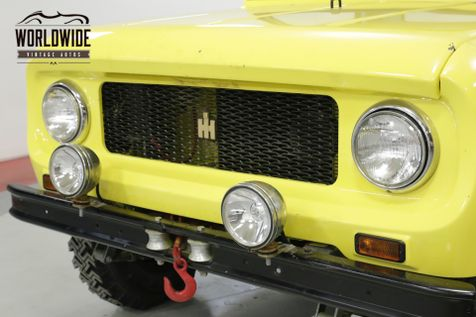 1962 International SCOUT 80 4X4 REMOVABLE TOP IMMACULATE MUST SEE    Denver, CO   Worldwide Vintage Autos in Denver, CO