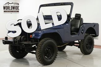1962 Jeep CJ 5 RESTORED. REBUILT ENGINE. WINCH MUST SEE | Denver, CO | Worldwide Vintage Autos in Denver CO