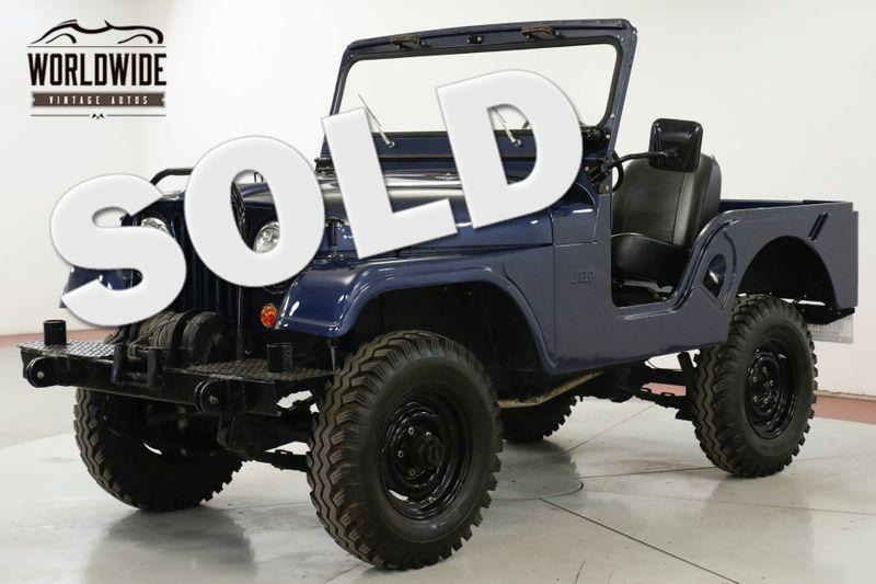 1962 Jeep CJ 5 RESTORED. REBUILT ENGINE. WINCH MUST SEE | Denver, CO | Worldwide Vintage Autos