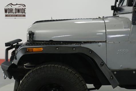 1962 Jeep CJ5  WILLYS. CUSTOM BUILD. 4x4. LED. WINCH  | Denver, CO | Worldwide Vintage Autos in Denver, CO