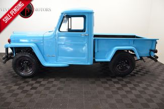 1962 Jeep WILLY'S 5 SPEED TURBO DIESEL SWAP PS PB in Statesville, NC 28677