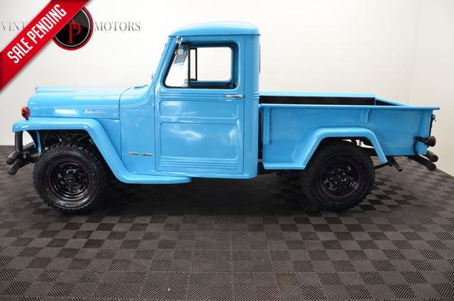 1962 Jeep WILLY'S 5 SPEED TURBO DIESEL SWAP PS PB in Statesville NC, 28677