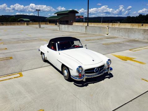 1962 Mercedes-Benz 190SL  in Bethel, Pennsylvania