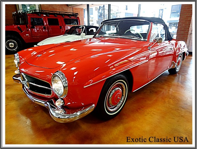 1962 Mercedes-Benz 190SL SL San Diego, California 0