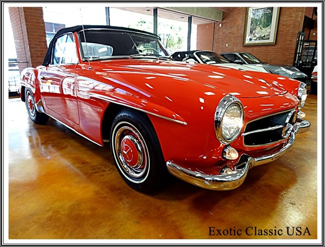 1962 Mercedes-Benz 190SL SL San Diego, California 8