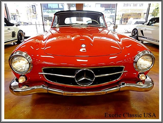 1962 Mercedes-Benz 190SL SL San Diego, California 11