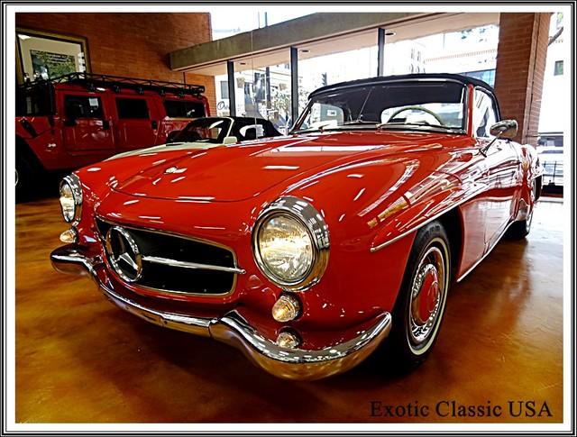 1962 Mercedes-Benz 190SL SL San Diego, California 10
