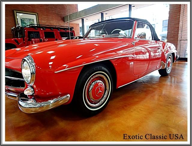 1962 Mercedes-Benz 190SL SL San Diego, California 12