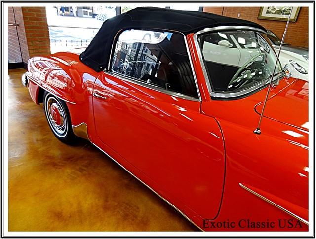 1962 Mercedes-Benz 190SL SL San Diego, California 16