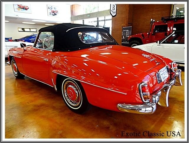1962 Mercedes-Benz 190SL SL San Diego, California 1