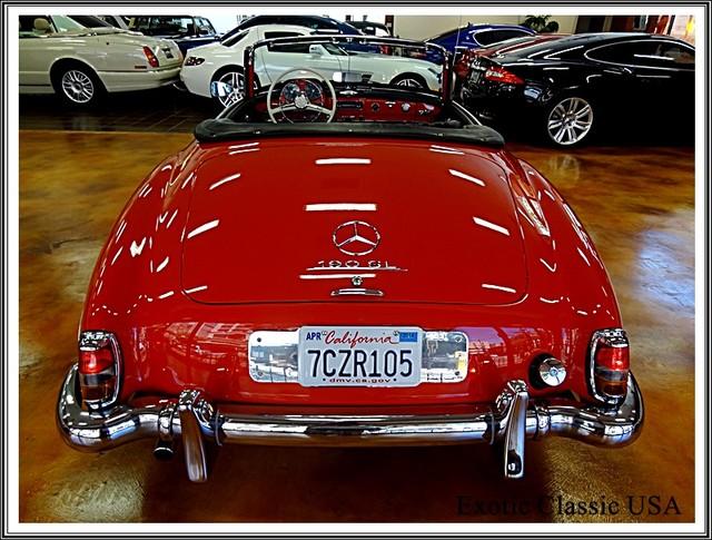 1962 Mercedes-Benz 190SL SL San Diego, California 22