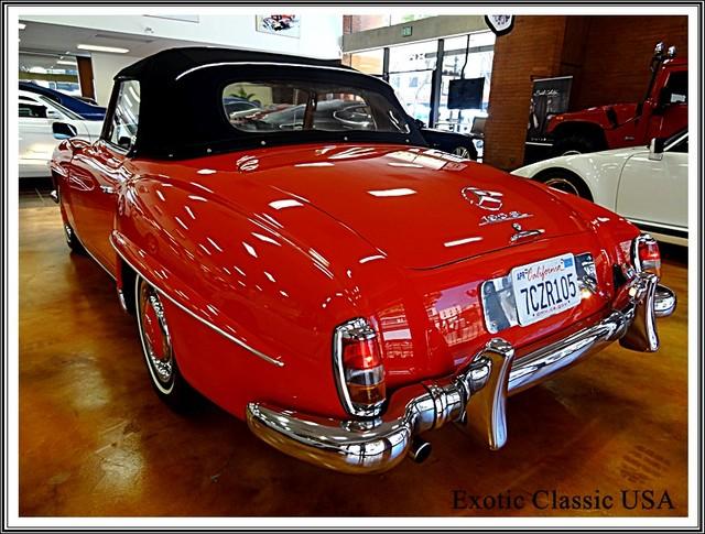 1962 Mercedes-Benz 190SL SL San Diego, California 5