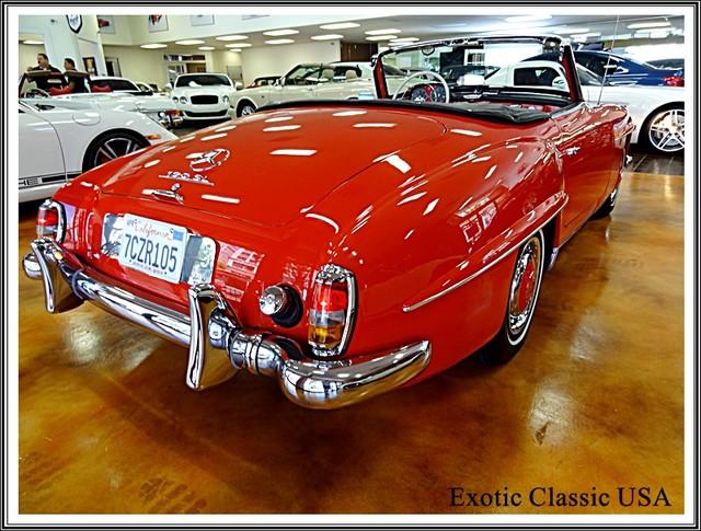 1962 Mercedes-Benz 190SL SL San Diego, California 29