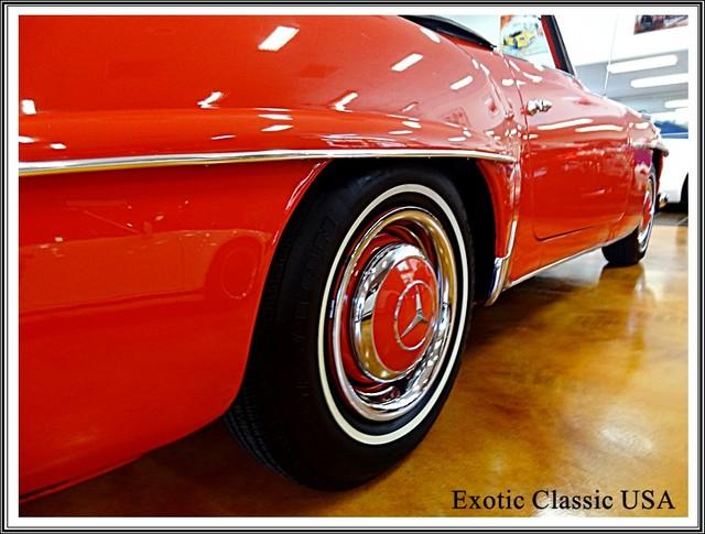 1962 Mercedes-Benz 190SL SL San Diego, California 48