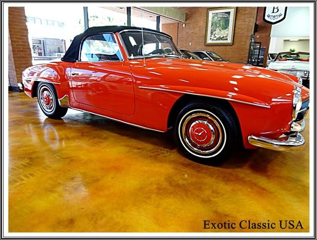 1962 Mercedes-Benz 190SL SL San Diego, California 9