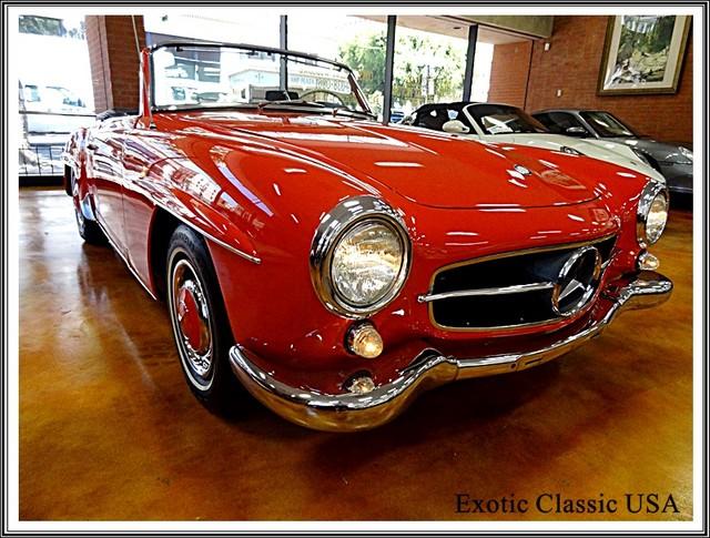 1962 Mercedes-Benz 190SL SL San Diego, California 60