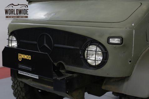 1962 Mercedes-Benz UNIMOG 404 SWISS TROOP CARRIER  4X4 BEAST RESTORED | Denver, CO | Worldwide Vintage Autos in Denver, CO